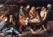 BADALOCCHIO, Sisto The Entombment of Christ hhh oil